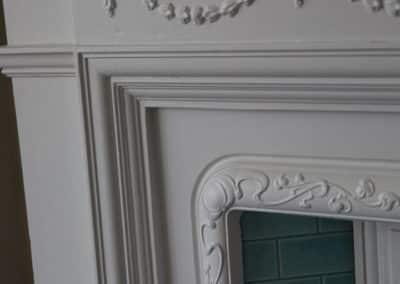 Fireplace - Restoration of cast iron fireplace