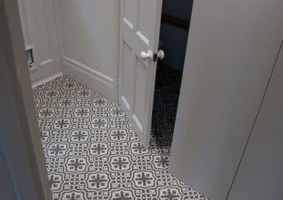 Floor Tiling - Victorian floor tiles installation