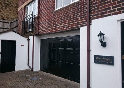 Exterior Cladding Restored - Painters and decorators London