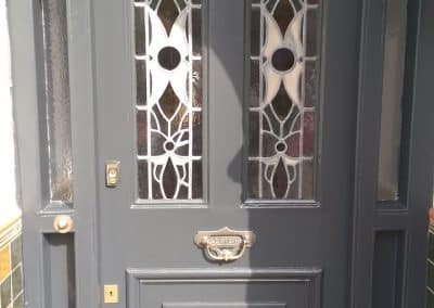 After Front door painting