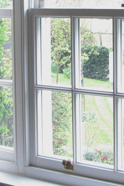 Sash window painting